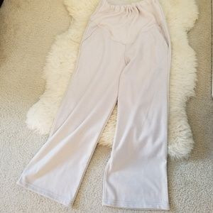 NEW Pregnancy crop leg wide maternity pants